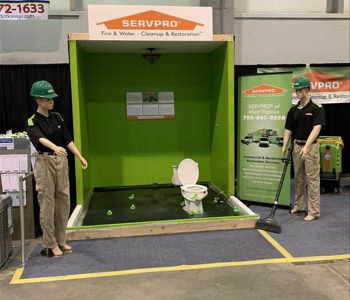 Why SERVPRO SERVPRO of Topeka has fun at Topeka Home Show
